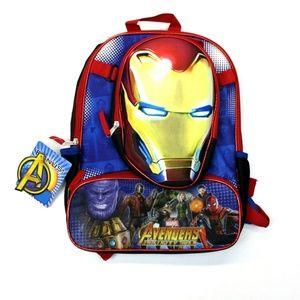 Marvel Avengers Infinity Wars Backpack w/Iron Man